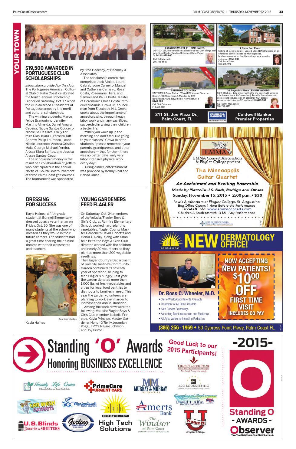 Palm Coast Observer Online 11-12-15 by Brian McMillan - issuu