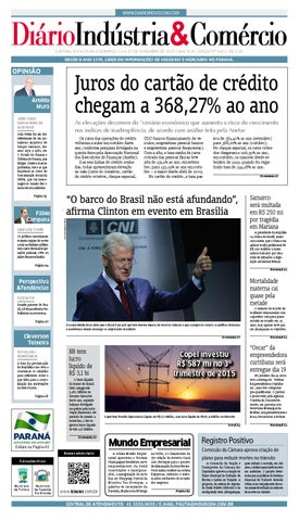 a0d619c2f5 Diário Indústria Comércio - 13 de novembro de 2015 by Diário ...