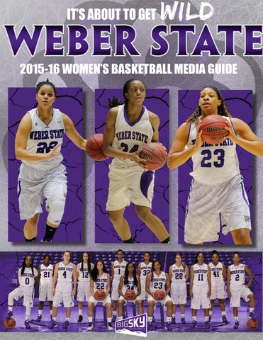 2016-17 Weber State Men's Basketball Media Guide by Weber State Athletic  Communications - issuu