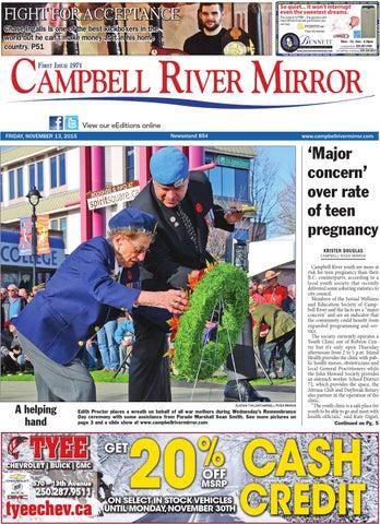 Campbell River Mirror, November 13, 2015 by Black Press - issuu 645e48859b