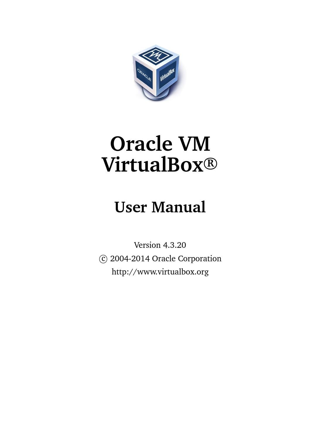 Usermanualvirtualbox by Andrea Giraldo - issuu