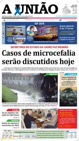 d65f00d5f0 Jornal A União - 13 11 2015 by Jornal A União - issuu
