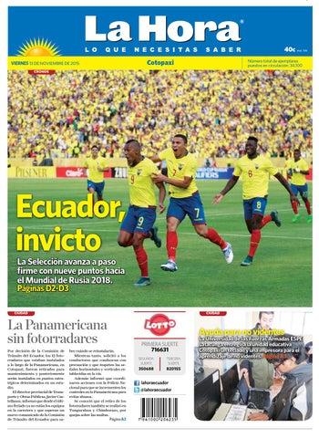 Cotopaxi 13 noviembre 2015 by Diario La Hora Ecuador - issuu 0d2b368f239e3