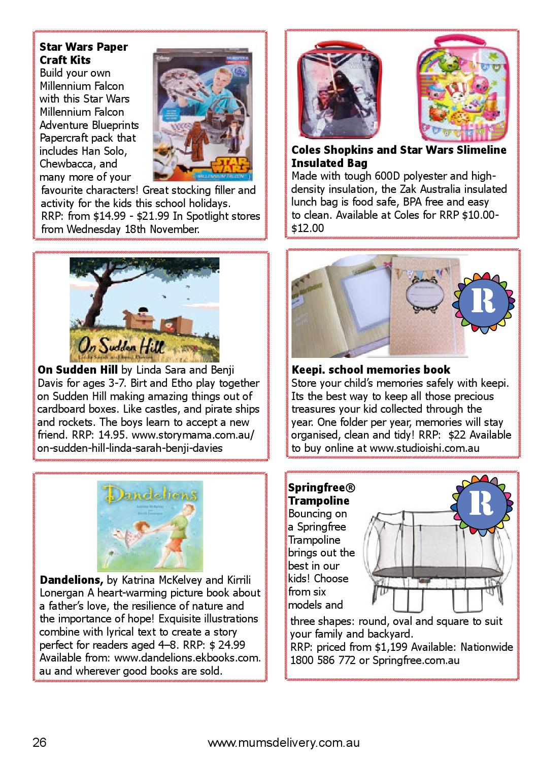 Christmas gift guide 2015 by MumsDelivery - issuu