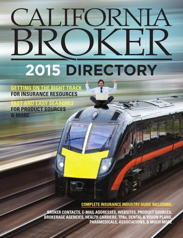 how to become an insurance broker in california