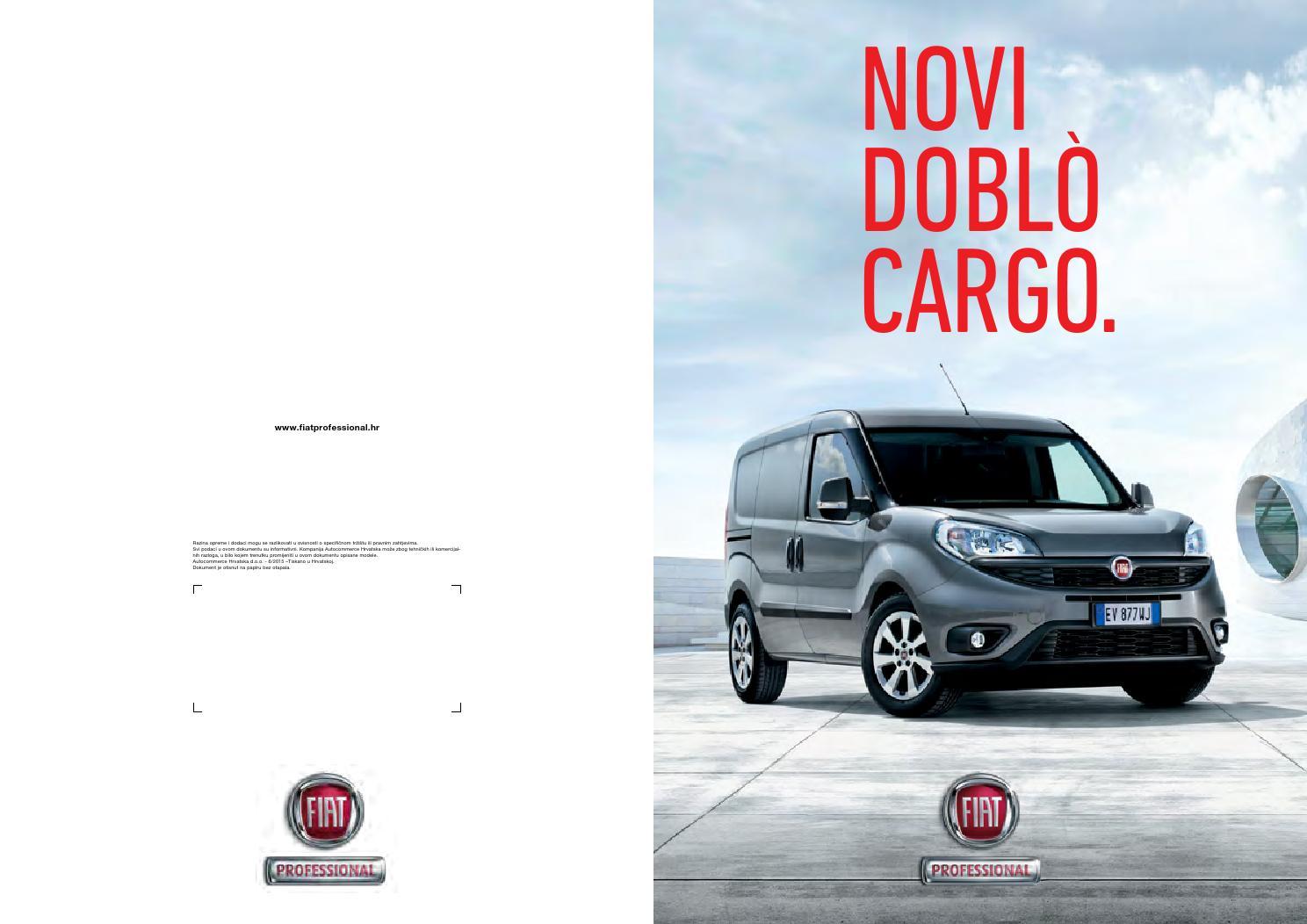 fiat doblo 2015 katalogkariĆ automobili, fiat, alfa romeo - issuu