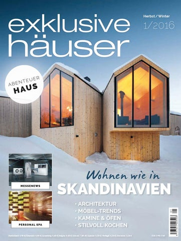 Wundervoll Exklusive Häuser 1/2016 By Family Home Verlag GmbH   Issuu