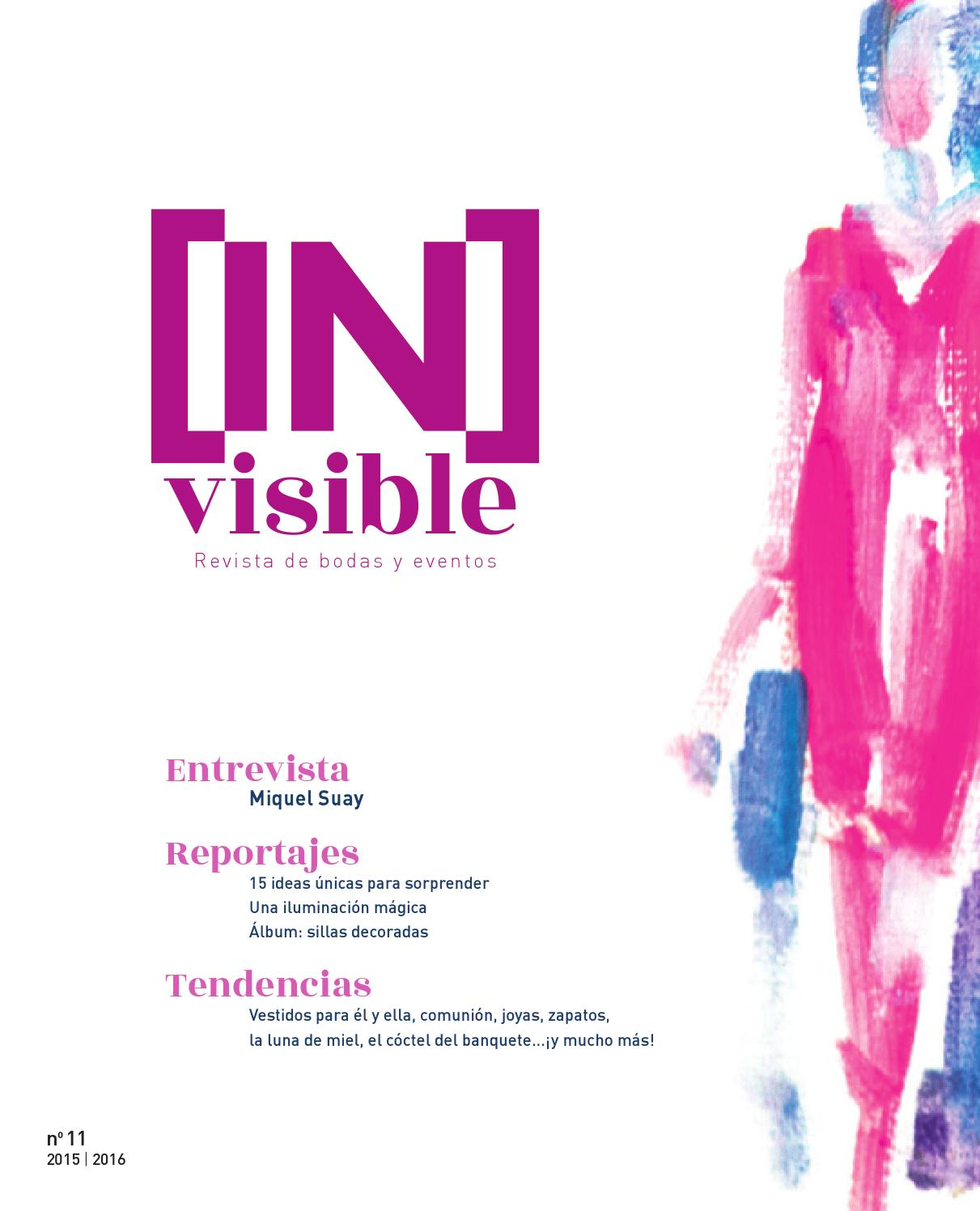 Invisible Bodas y Eventos 2015/2016 by Saforguia MediaServiocio - issuu