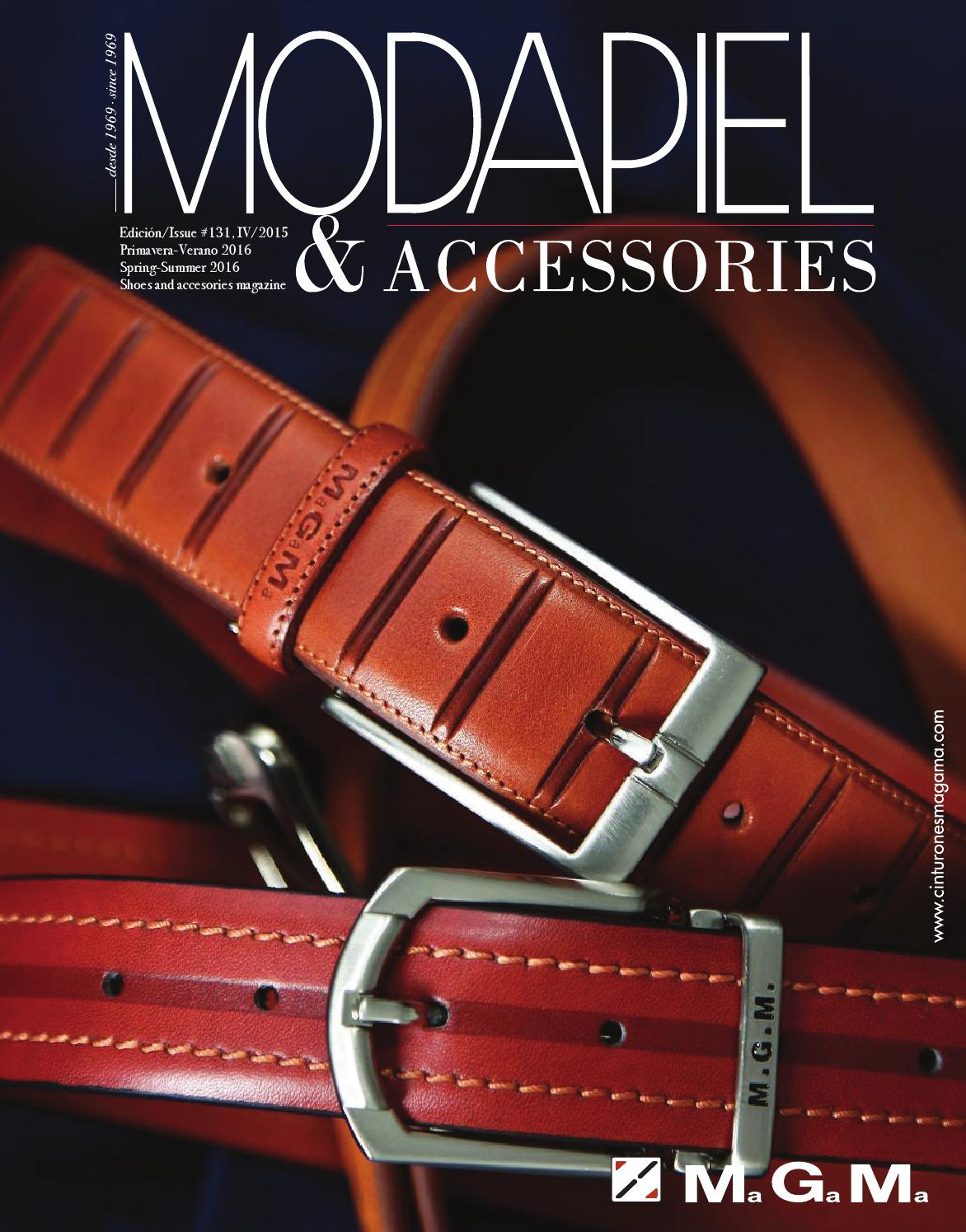 b6477c81ddc2a Modapiel 131 Shoes and accessories magazine by Prensa Técnica S.L. - issuu
