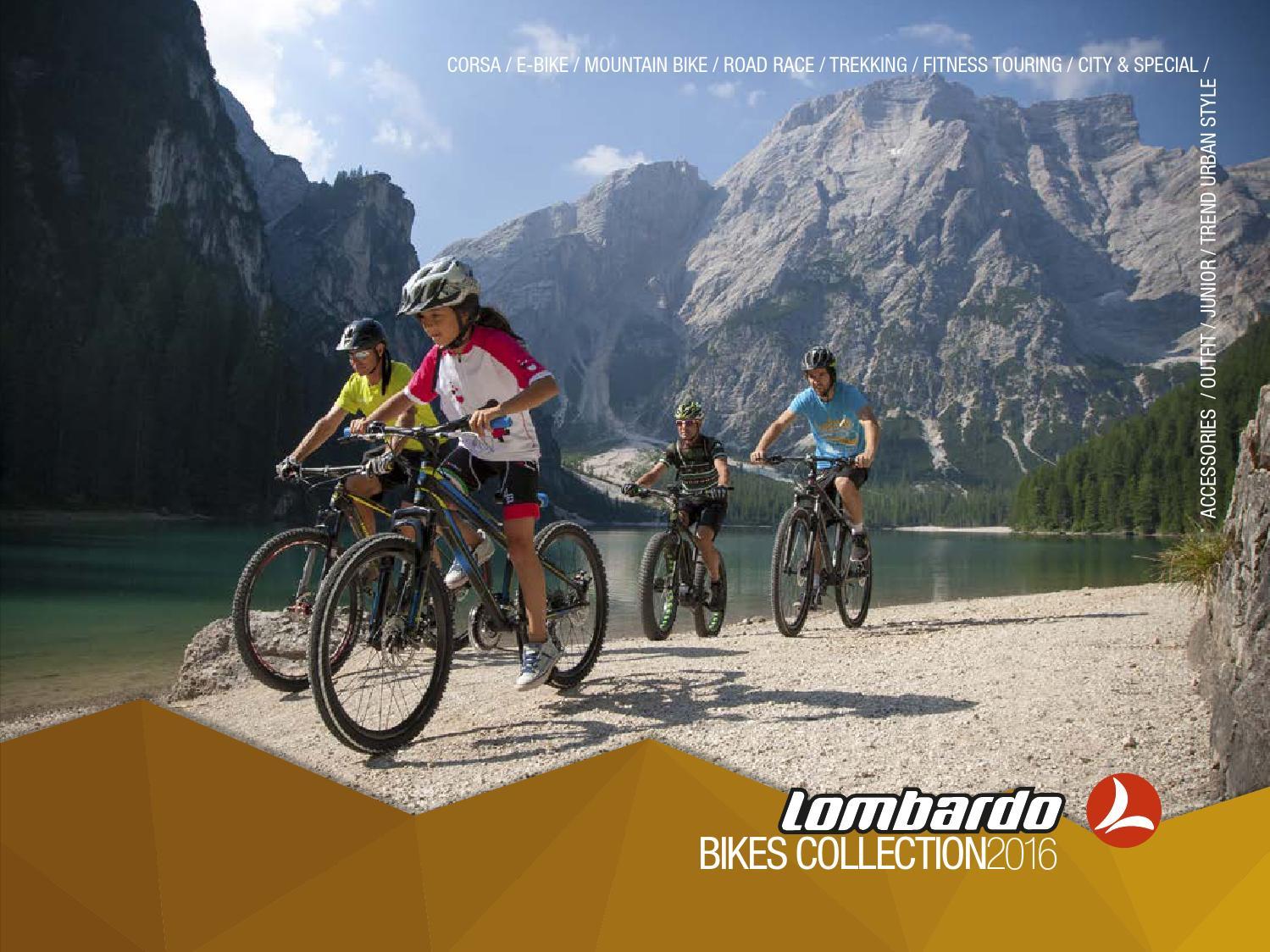 Lombardo Mountain Bike 20 Brera 20 6 V Orange//Black