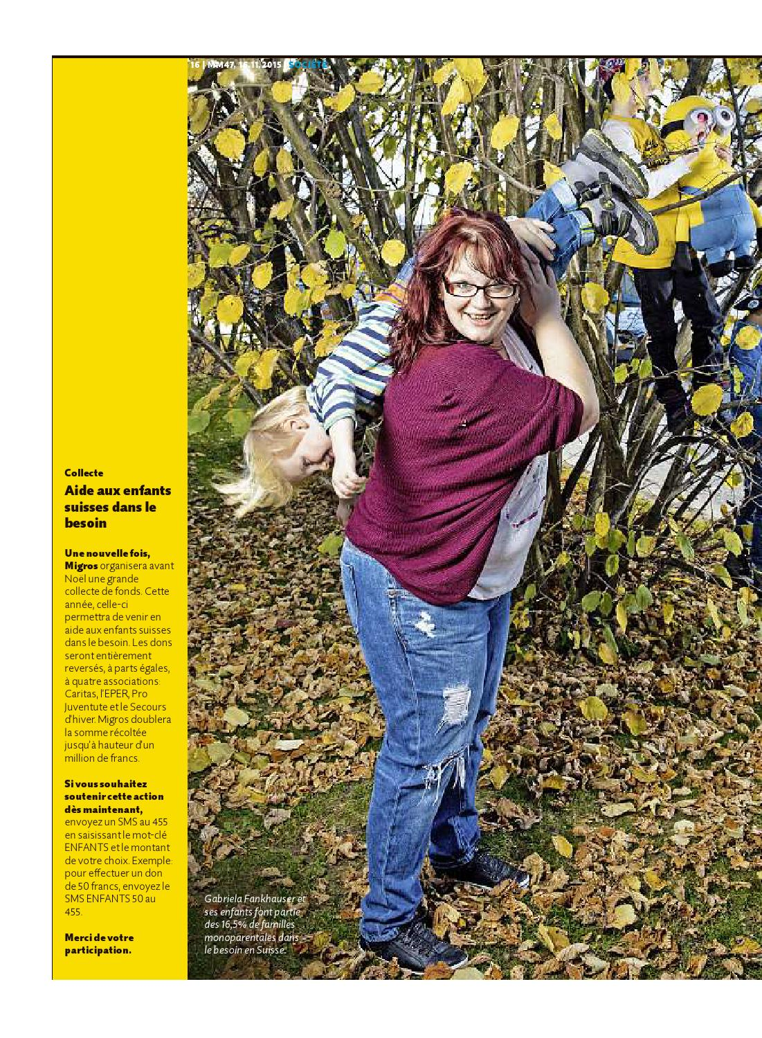 Migros Magazin 47 2015 F Ne By Migros Genossenschafts Bund Issuu