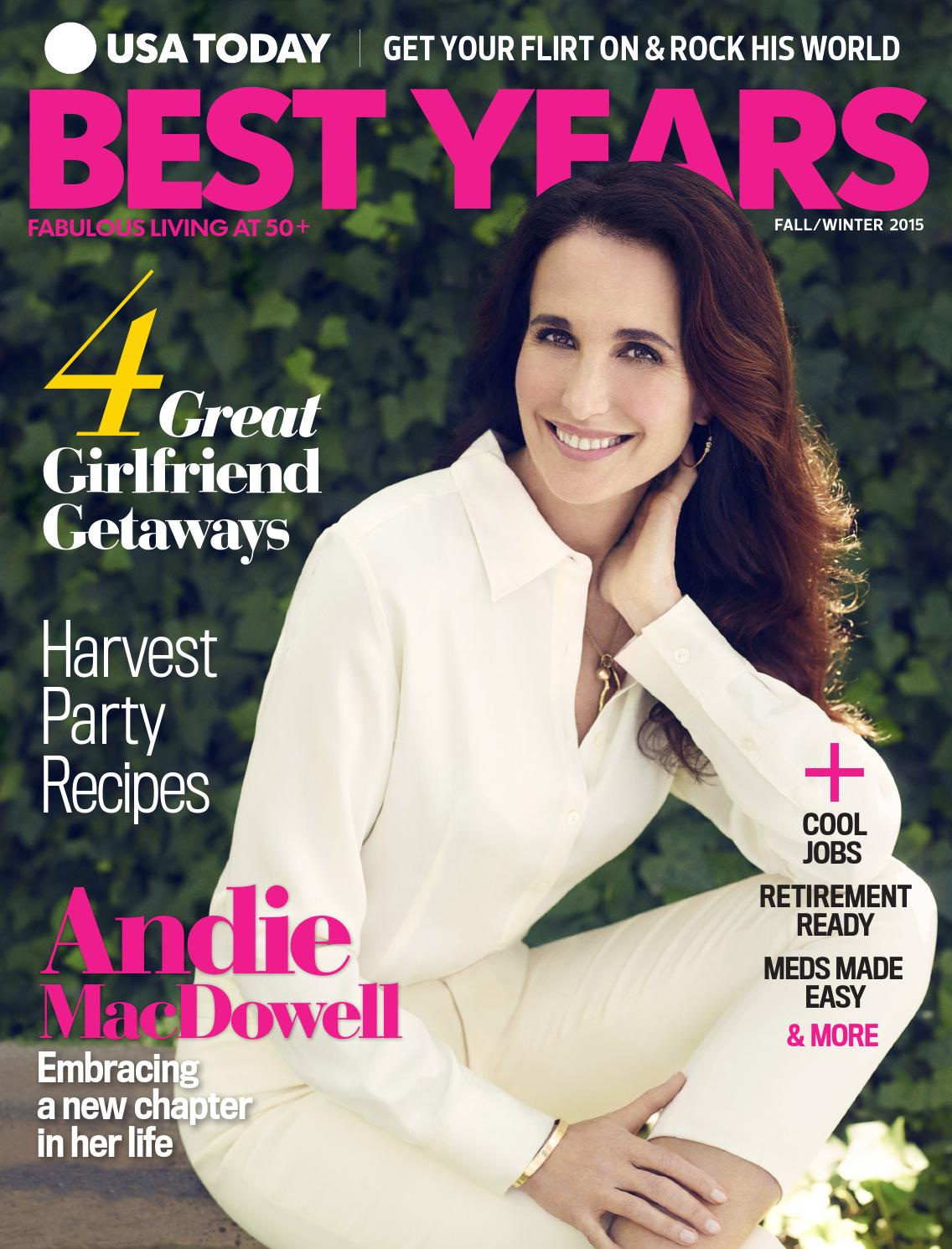 Andie Macdowell Bra Size best yearsstudio gannett - issuu