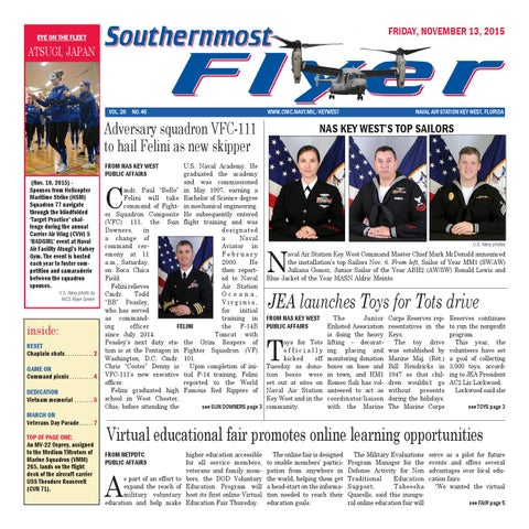 Southernmost Flyer Nov  15, 2015 by Southernmost Flyer - issuu