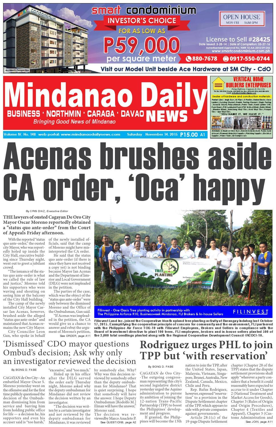66bb367ab6 Mindanao Daily News (November 14