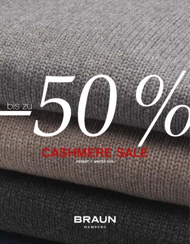 winter cashmere sale 2015 by braun hamburg gmbh co kg issuu. Black Bedroom Furniture Sets. Home Design Ideas