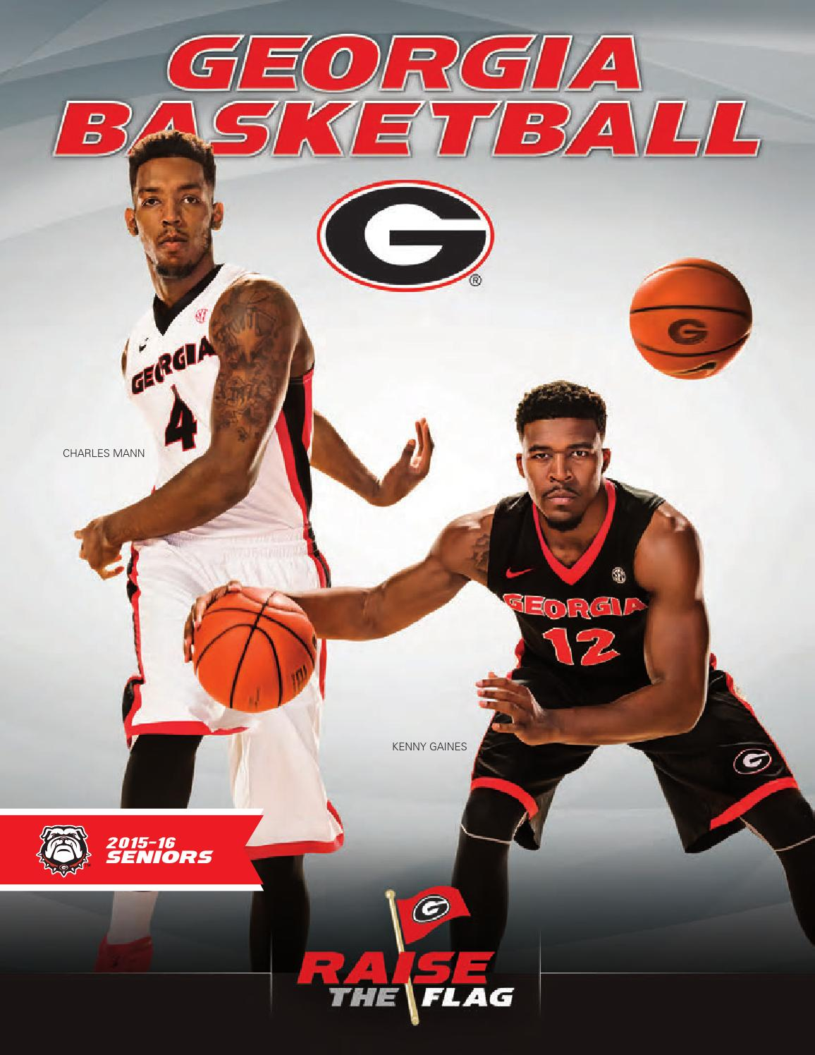 2015-16 Georgia Men's Basketball Media Guide by Georgia Bulldogs Athletics  - issuu