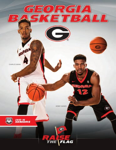 2015-16 Georgia Men's Basketball Media Guide by Georgia