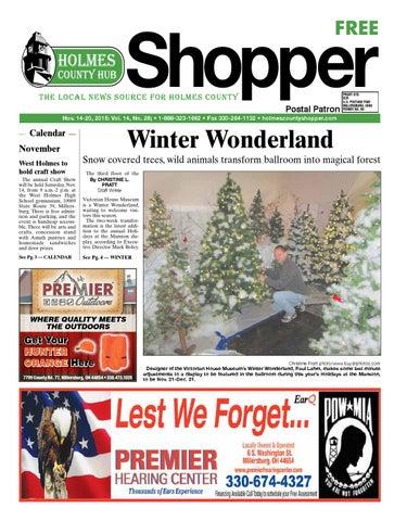 Holmes County Hub Shopper Nov 14 2015 By Gannett Neo Issuu