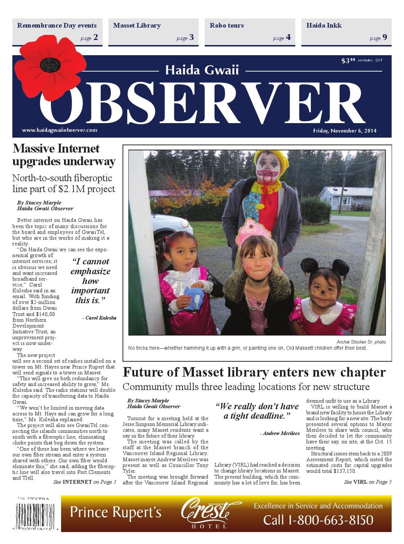 Haida gwaii observer november 06 2015 by black press issuu buycottarizona