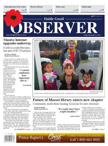 Haida Gwaii Observer November 06 2015 By Black Press Issuu