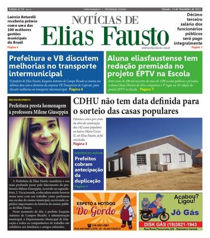 aef77fa4291de Jornal Notícias de Elias Fausto - Edição 24 - 14-11-2015