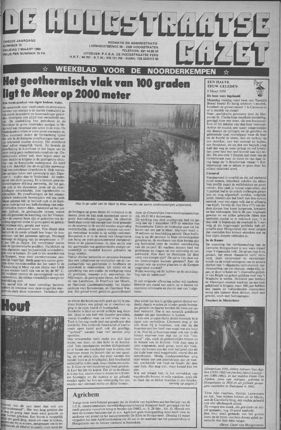 f8f2cebf939a61 De Hoogstraatse Gazet - maart 1980  nr 10 - 13 by De Hoogstraatse Gazet -  issuu