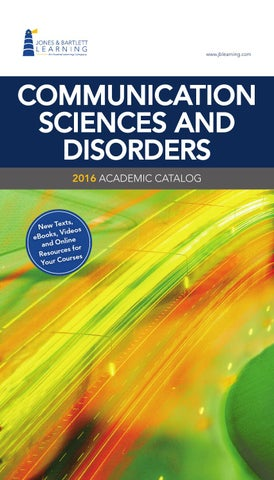 2016 communication sciences and disorders catalog by jones page 1 fandeluxe Image collections
