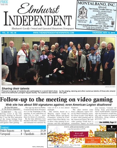 Ei 11 12 15 By Southern Lakes Newspapers Rock Valley Publishing