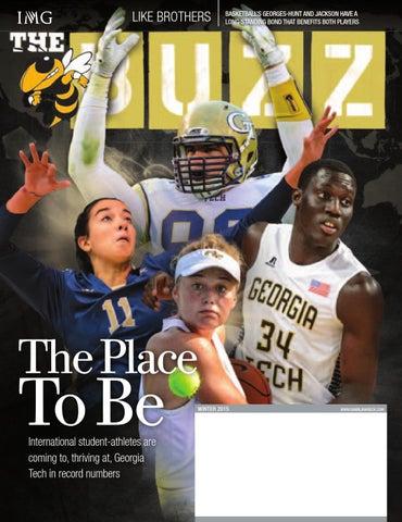 Georgia Tech BUZZ Magazine - Winter 2015-16 by GTAthletics - issuu 69e3b902f