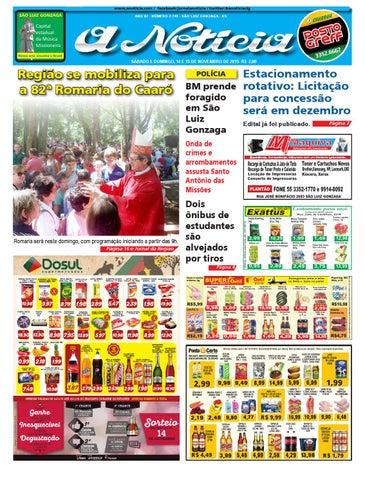 Edição de 14 e 15 de novembro de 2015 by Jornal A Notícia - issuu 92694c314d3