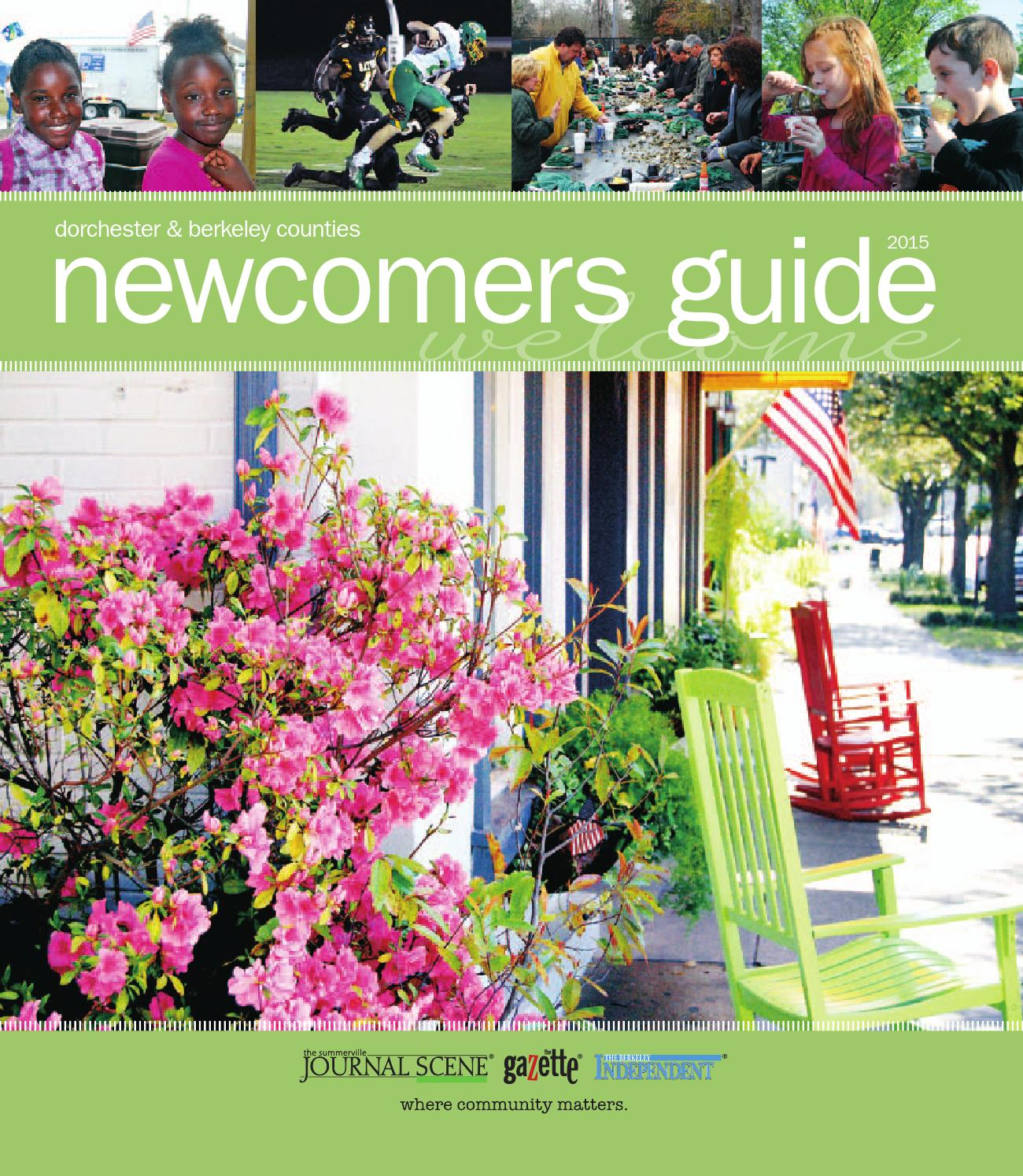 Newcomers Guide by Summerville Journal Scene - issuu