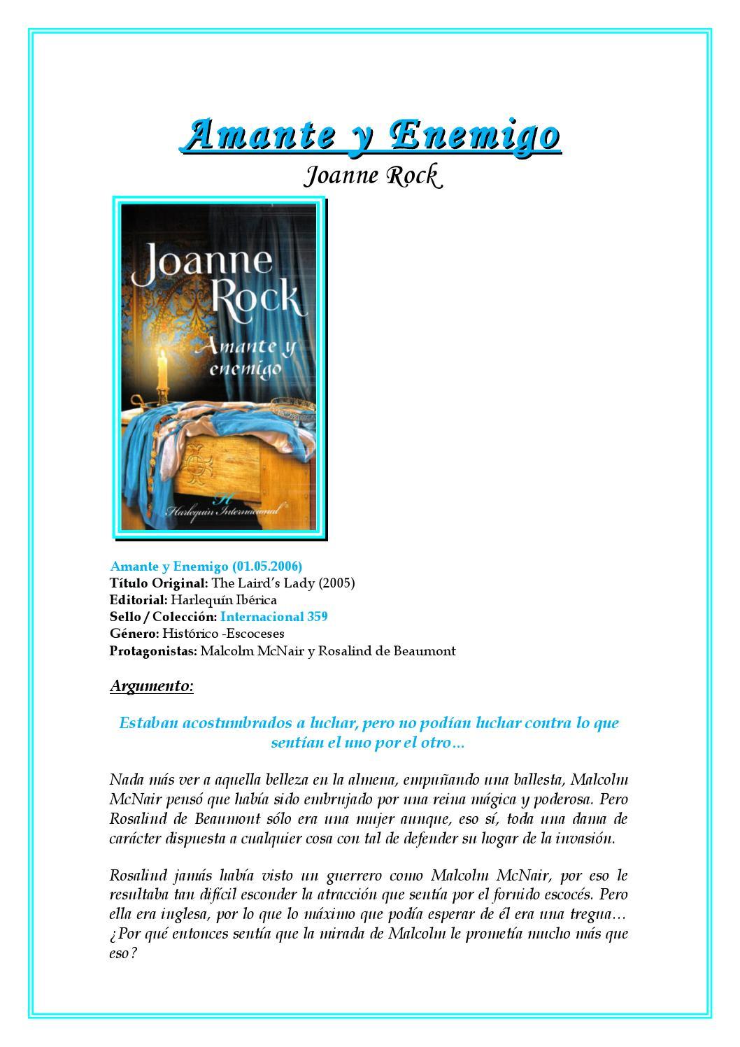 Rock, joanne amante y enemigo by romina lazarte - Issuu