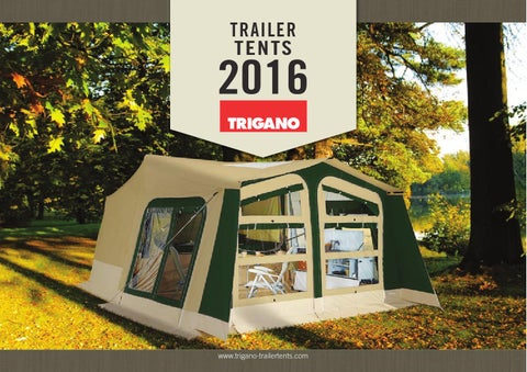 Page 1. TRAILER TENTS & ??????????? trigano 2016 by Caravan Expert - issuu