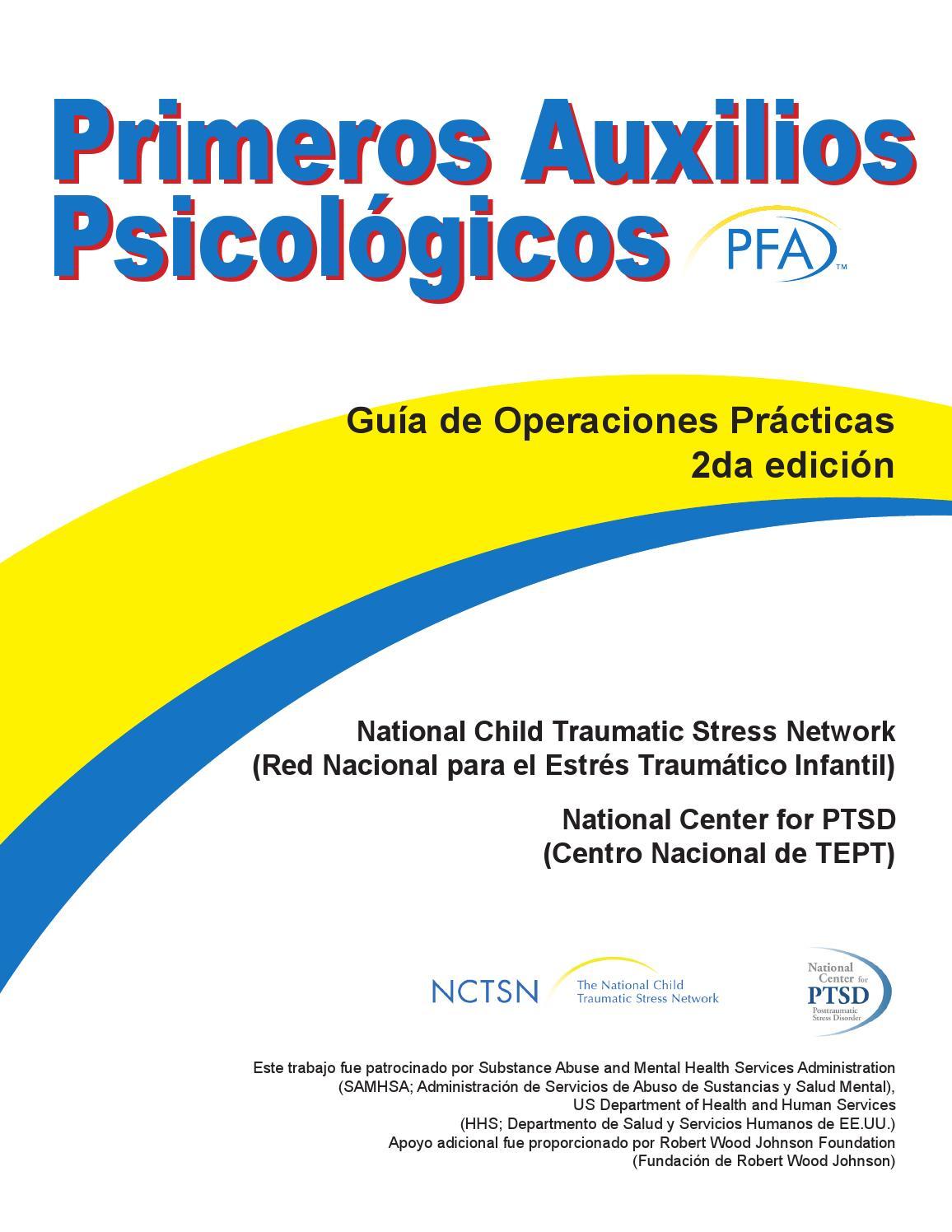 Primeros auxilios psicológicos libro by vamos por la educacion - issuu