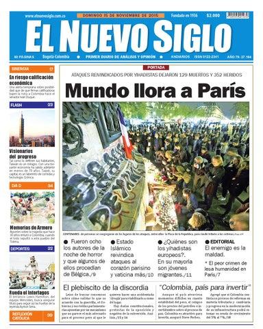 Edición Dominical (15-22 de noviembre) by claudia bermudes - issuu 0532da5f8a2