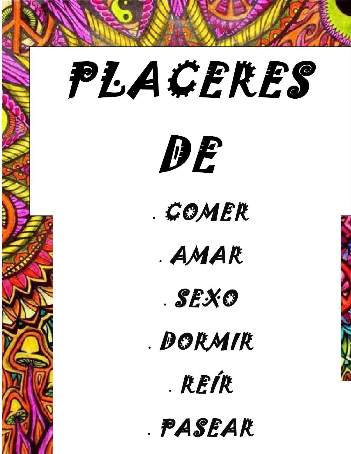 Placeres De La Vida By Monse Alvarado Issuu