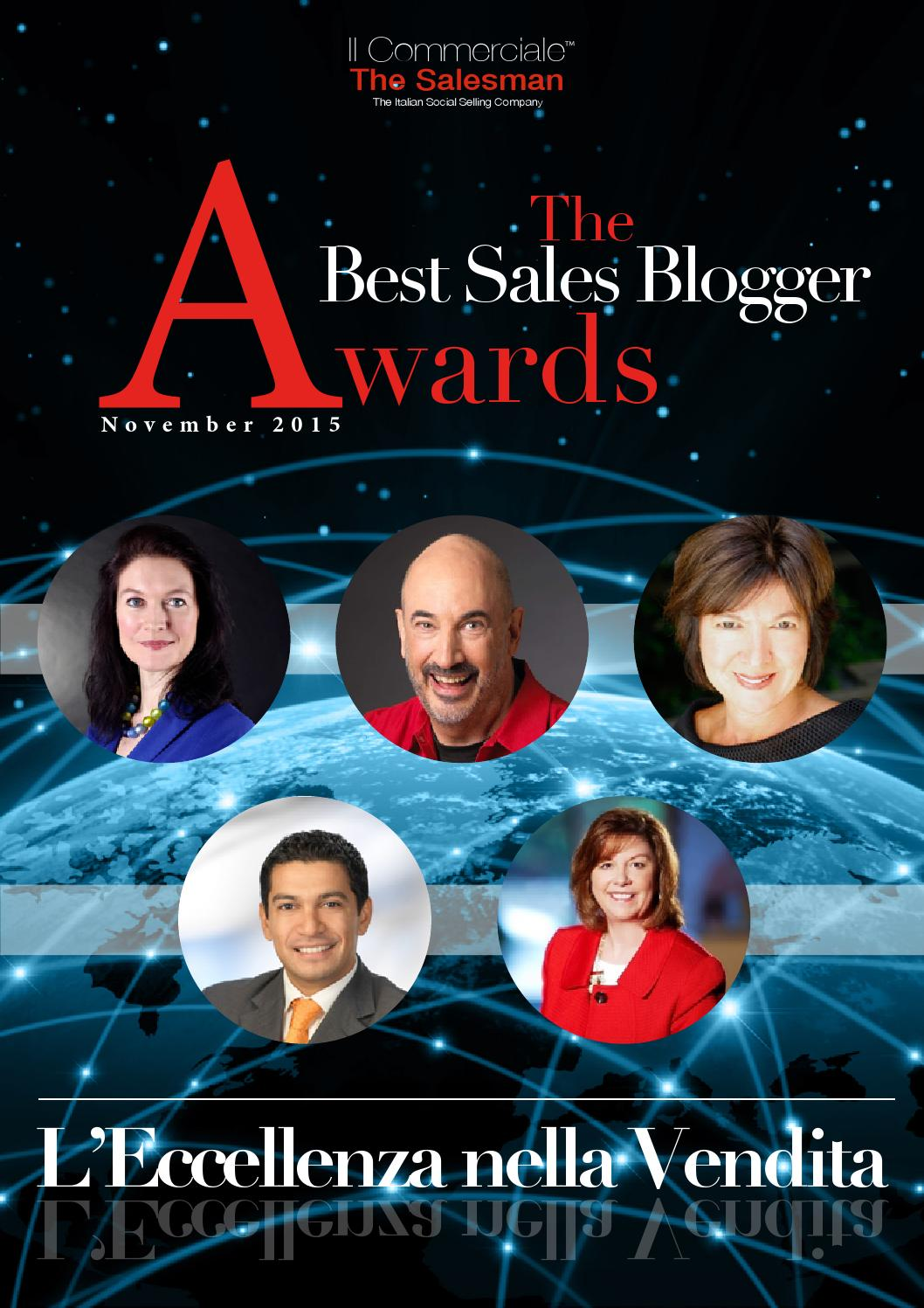 Magazine Best Sales Blogger Awards 2015