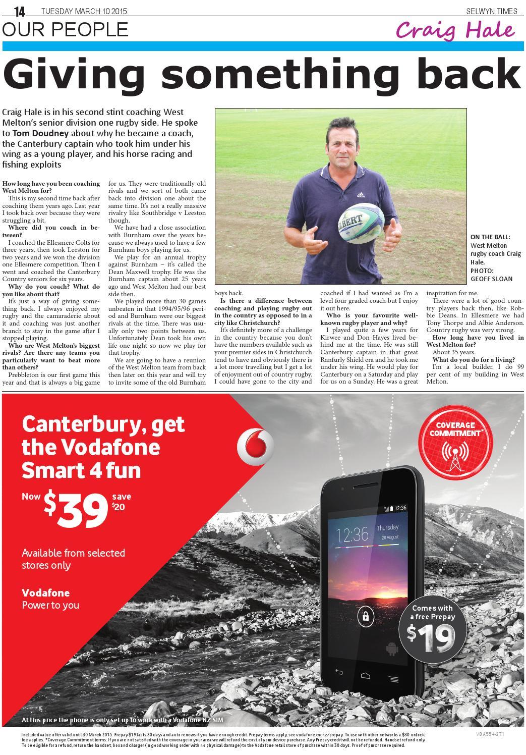 Selwyn Times 10-03-15 by Local Newspapers - issuu