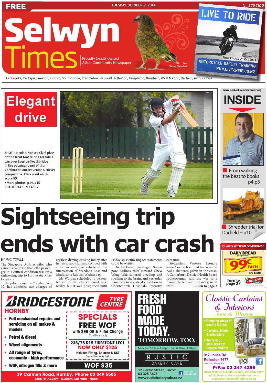 3afa4210e9b7 Selwyn Times 07-10-14 by Local Newspapers - issuu