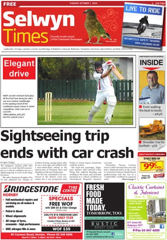 Selwyn Times 07 10 14 By Local Newspapers