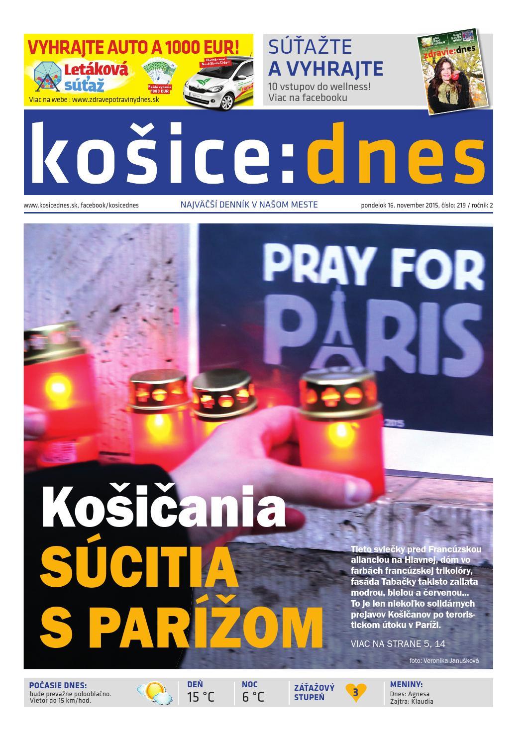 košice dnes by KOŠICE DNES - issuu a8721c4a6b6
