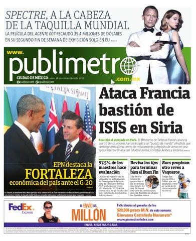 a154cfa622 20151116_mx_publimetro by Publimetro Mexico - issuu