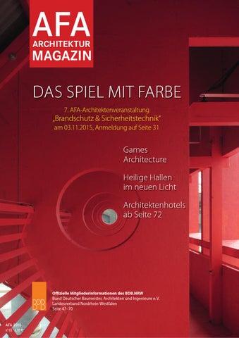 AFA Architekturmagazin 032016 by AFA Architekturmagazin issuu