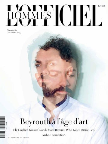 0f400709b0d649 L Officiel Hommes-Levant, November Issue 60 by L Officiel Levant - issuu