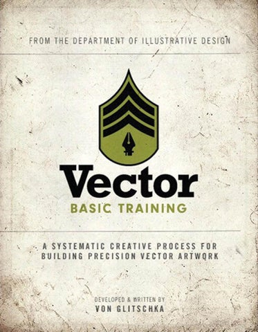 Vector basic training a systematic creative process for building precision  vector artwork