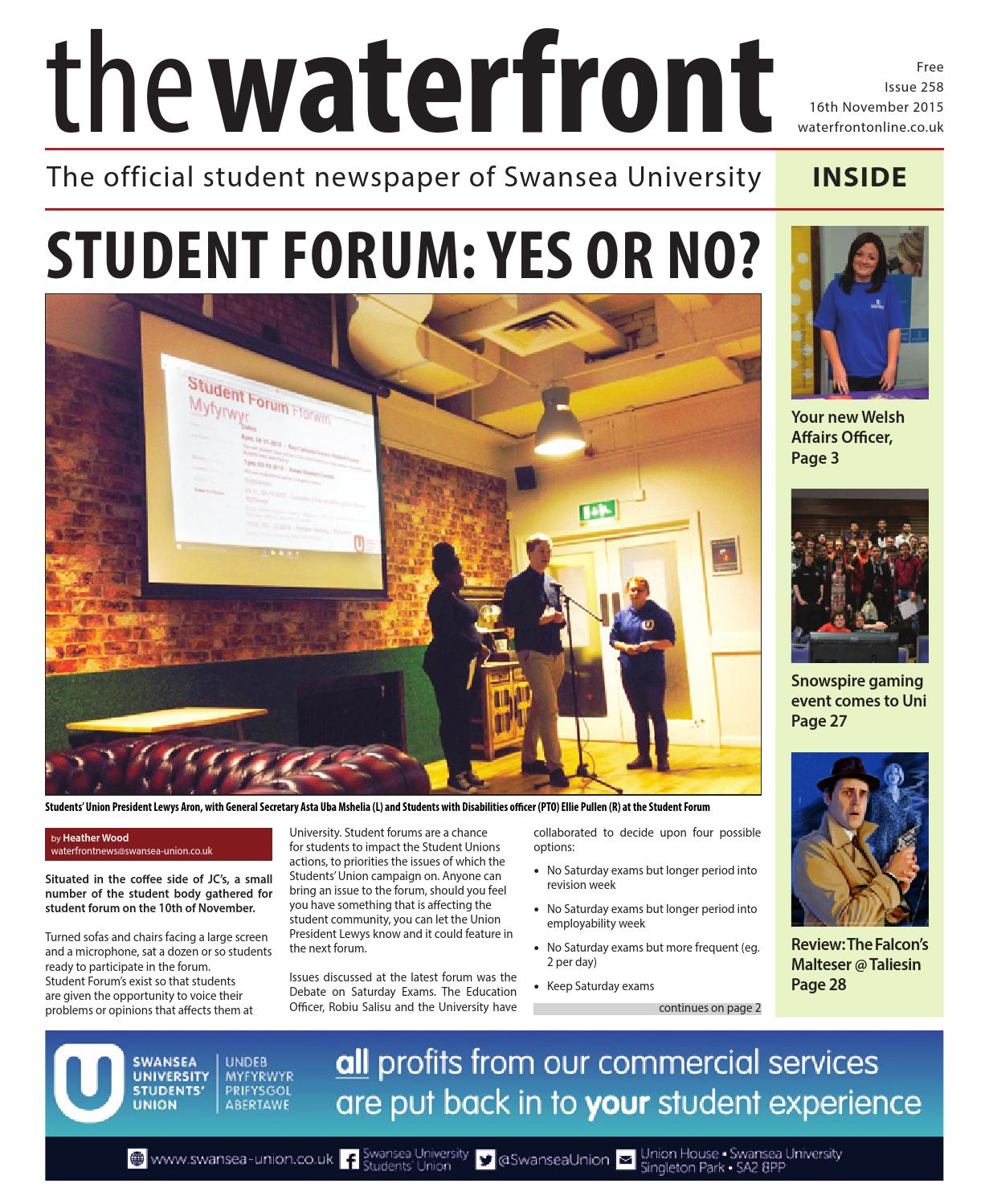 The Waterfront issue 258 by Waterfront - issuu