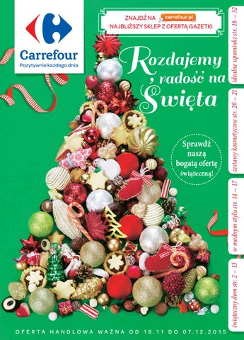 Carrefour Gazetka Prezenty Od 1811 Do 07122015 By Iulotka