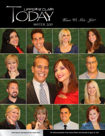 04acdf508a4 WINTER 2015 UPPER ST. CLAIR TODAY by UPPER ST. CLAIR TODAY Magazine ...