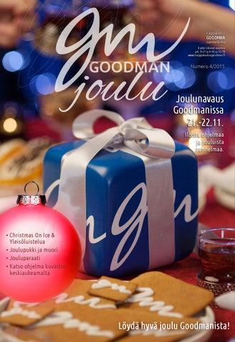 Kauppakeskus Goodmanin joulukuvasto 2015 90d108e3af