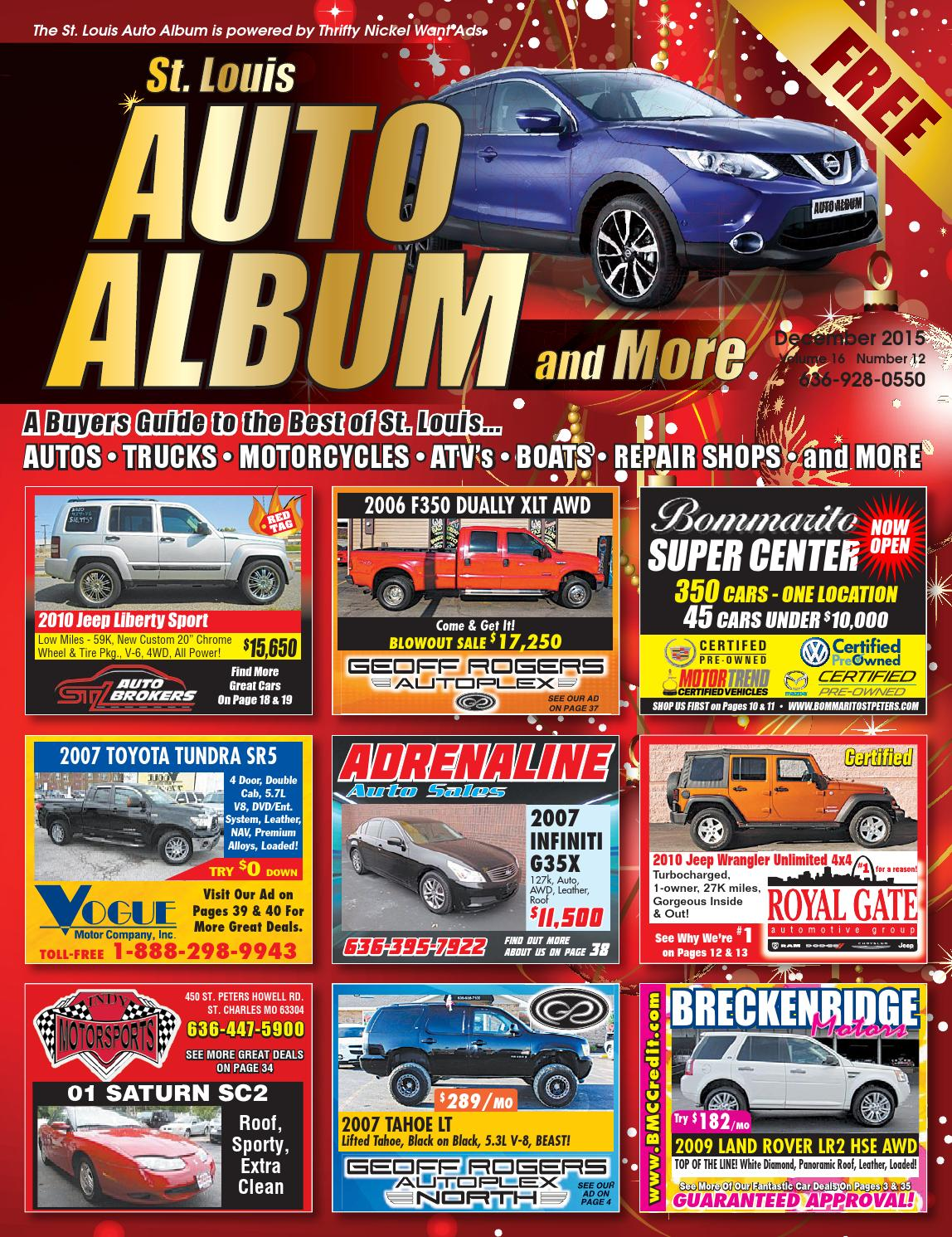 Thrifty Nickel Cars For Sale >> December 2015 Auto Album by Thrifty Nickel Want Ads St. Louis - Issuu